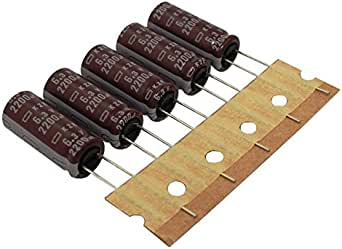 10x Elko Kondensator Radial 2200µf 6 3v 105 C Ekze6r3etd222mj25s 2200uf Beleuchtung