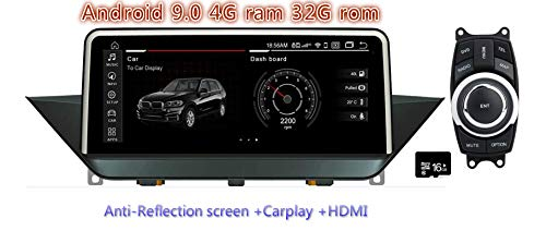 26 cm Android 4.44 Moniteur pour Voiture (Originaly sans écran) BMW X1 E84 2009 2010 2011 2012 2013 2014 2015 Voiture PC Stereo Radio Vedio Audio GPS Navi multimédia de l'interface de l'Autoradio