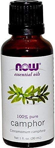 Now Foods Essential Oils Camphor, 30 ml