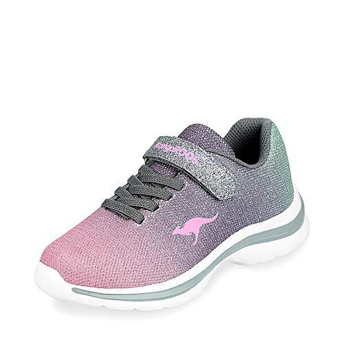 KangaROOS Unisex-Kinder Kangashine EV II Sneaker, Mehrfarbig (Metallic Multi 9033), 38 EU