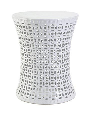imax-huff-cutwork-garden-stool-glass-white