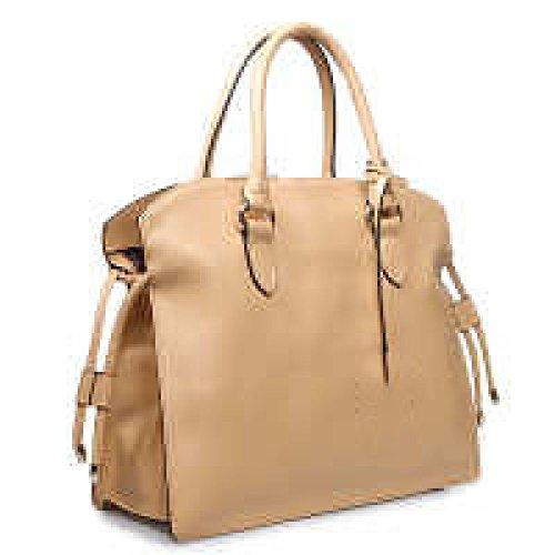 PACK Borse In Nappa Borse In Pelle Di Grande Concessione In Licenza Europa E Negli Stati Uniti Ladies Leisure Messenger Bag,A:RoseRed B:Beige