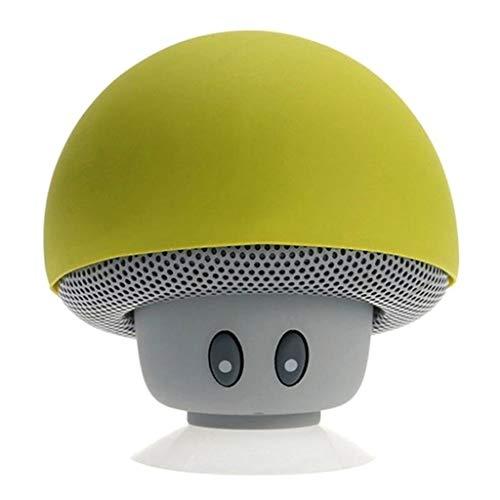 Bluetooth Loudspeaker,Aisumi, Mini Drahtloser Bluetooth Lautsprecher-MP3-Musik-Spieler Mit Wasserdichtem Tragbarem Stereo-Bluetooth-Pilz-Sprecher Mic Für Telefon PC Z2