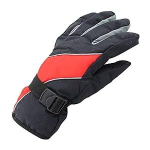 Männer Frauen Winter Handschuhe Anti-Rutsch Palm und Warmes Futter Wasserdichte Ski Handschuhe Snowboard Radfahren Schneemobil Warme Handschuhe Handwärmer Tasche