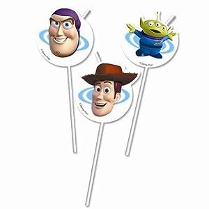 Procos - Pajitas de plástico Toy Story, pack de 6 (71406)