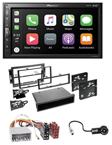 caraudio24 Pioneer SPH-EVO62DAB USB MP3 DAB 2DIN Bluetooth Autoradio für Chrysler PT Cruiser 300C Dodge Jeep Commander (Jeep Grand Cherokee Radio-bildschirm)