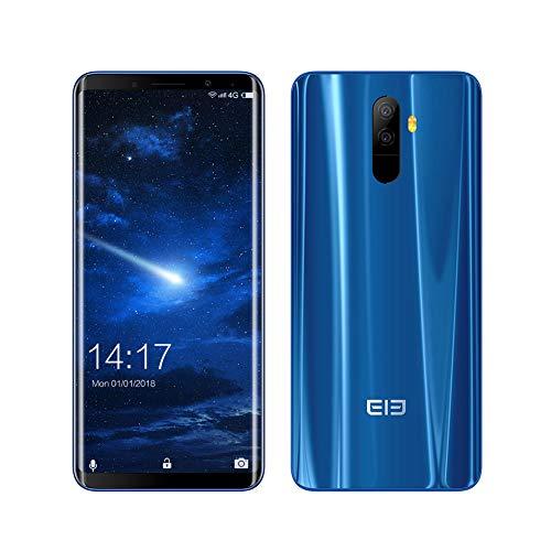 Smartphone 4G Desbloqueado, Elephone U Android 7.1 Octa Core 5.99'FHD Pantalla Curva 6GB RAM + 128GB ROM Doble SIM...