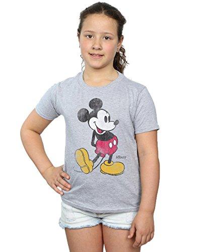 Disney Girls Mickey Mouse Classic Kick T-Shirt