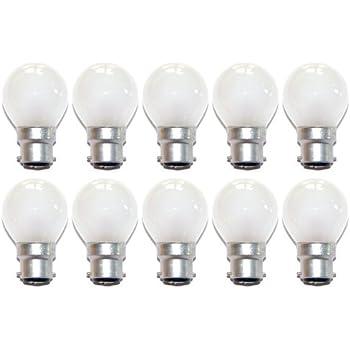BC 3 X 40w Klar Kerze Weißglühend Filament Glühbirnen; B22 Bajonett Kappe