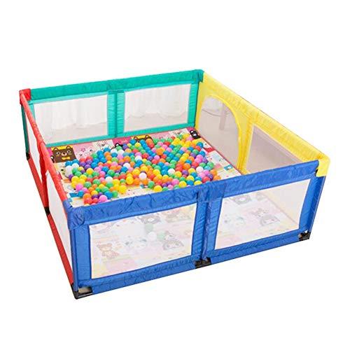 Bambini Recinto- Baby Box con Tappeto Strisciante, Cantiere Portatile per Toddler Interno Anti-Caduta Game Fence, 70 Cm di Altezza (Dimensioni : 180x190cm)
