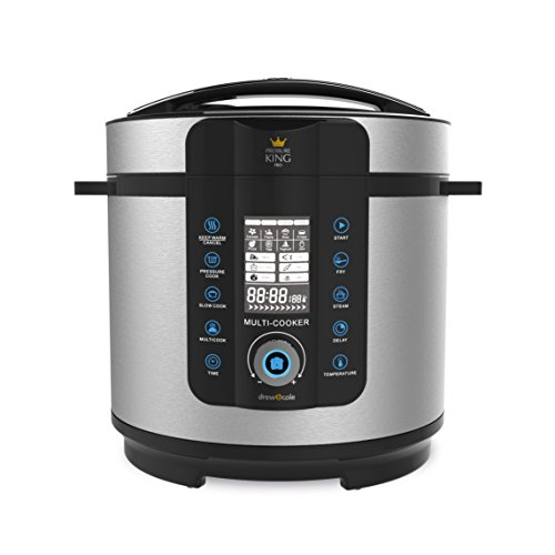 Pressure King Pro PKP6L PKP 6L Electric Pressure Cooker, 1000 W, 6 liters, Chrome