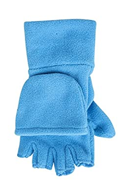 Mountain Warehouse Fingerless Fleece Kids Mitten - Convertible Design, Soft Fleece Fabric for Warm with Elasticised Band - Perfect for Kids Hand Warm & Comfortable : everything five pounds (or less!)