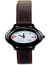 Olvin Women Analog Designer Wrist Watch (1618BL01)