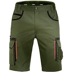 Uvex Tune-Up Pantalons Courtes pour Jardinage - Bermudas- Vert - Taille 62