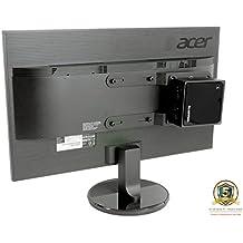 Allcam Universal NUC/Mini CPU Thin Client para Monitor LCD o monitor de montaje soporte para armas