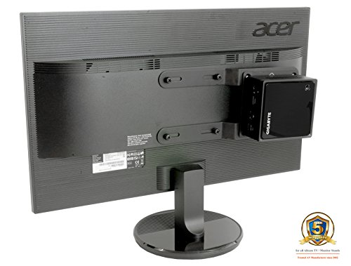 Allcam Universal NUC/Mini PC Thin Client Mount for Mounting to LCD Monitor or Monitor Arms