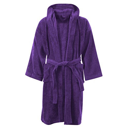 Have An Inquiring Mind Personalised White Toweling Bathrobe Bath Robe 500 Gsm 100% Egyptian Cotton Uni High Standard In Quality And Hygiene Intimates & Sleep