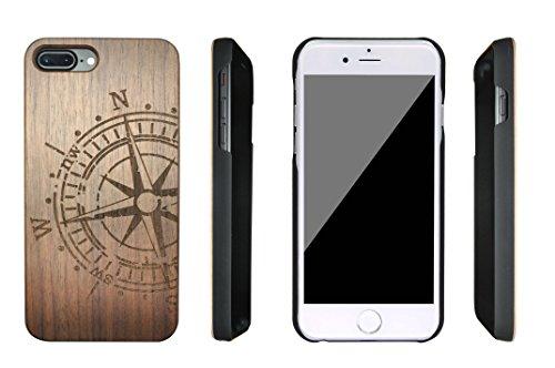 SunSmart iPhone 7 Plus bois Housse iPhone 7 Plus bois étuis pour iPhone 7 Plus 5.5'' -19 IP7+5.5''-13