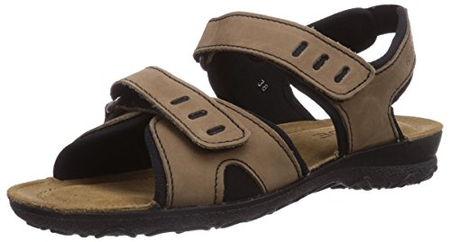 Rohde 1328, Sandales de marche femme Beige (Lin)
