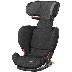 Bébé Confort Rodifix Airprotect, Siège-auto Groupe 2/3 (15 à 36 kg), ISOFIX, de 3,5 à 12 ans, Nomad Black