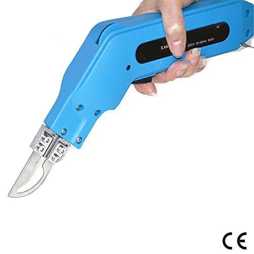 Cortador cuerda, cuchillo portátil calentamiento