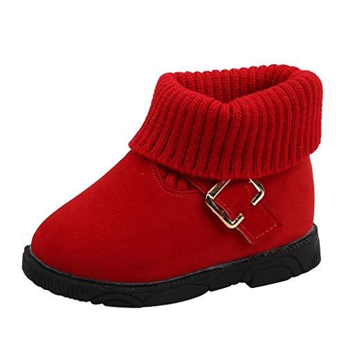 YU'TING ☀‿☀ Stivali da Neve Bambini, Scarpe Invernali per Neonati Bambino Piccolo Ragazzo Ragazza Stivali da Neve Stivaletti Bambina
