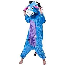 Azul de Igor Donkey Unisex Kigurumi pijama Animal Cosplay disfraz de pijama pijamas
