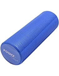 Powrx Yoga-Rolle / Pilates-Rolle / Schaumstoff-Rolle / Foam-Roller / Faszien-Training / Selbstmassagerolle 45 cm oder 90 cm x 15 cm