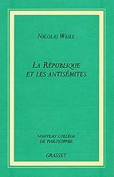 La république et les antisémites (Collège de Philosophie)