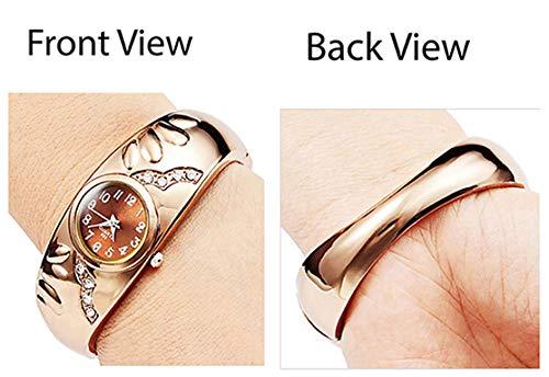 Micacchi Analog Rose Gold Diamond Studded Women Watch & Girls Watches -BB
