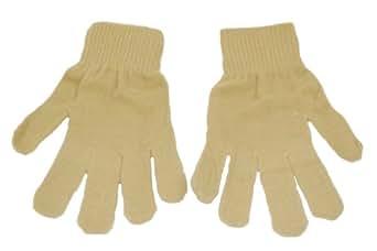 Adults Magic Stretch Gloves. (Beige)