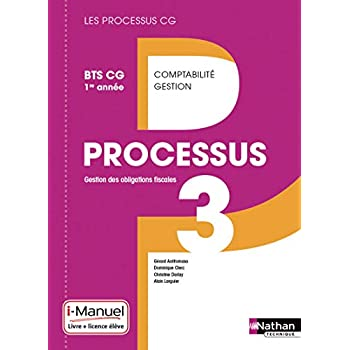 Processus 3 BTS CG 1re année (Éd. 2015)