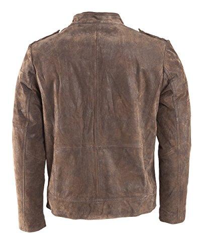 Tom Tailor Lederjacke, Herren 15-11 Brown
