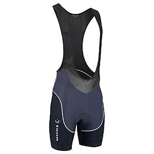Tenn Mens Viper Padded Cycling Bib Shorts - Black - Sml