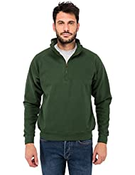 Fruit of the Loom Herren Sweatshirt Zip Neck Sweat