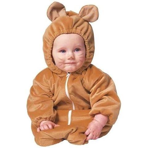 RG Costumes Bear Bunting Zipper Velboa Infant