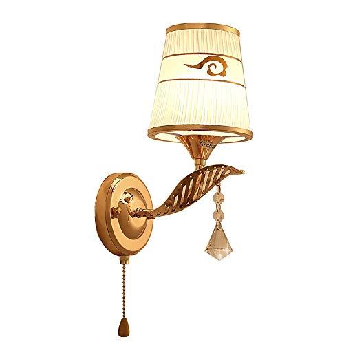 YLCJ Wandleuchte Halterung Licht Wandleuchte Standlicht Applique Sconces Led Schlafzimmer Nachttischlampe einfache moderne kreative Wohnzimmer Treppenlicht Crossover Beleuchtung