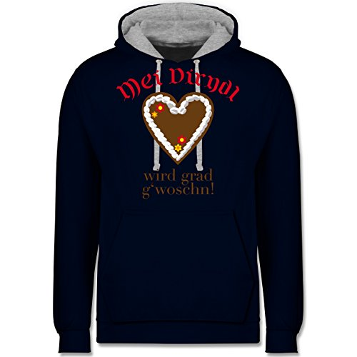 oktoberfest-damen-dirndl-wird-gwoschn-shirt-statt-dirndl-xs-dunkelblau-grau-meliert-jh003-unisex-dam