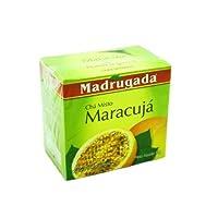 Passion Fruit Tea 10 tea bags - Chá de Maracujá 10 sachês - Madrugada - 0.5oz (15g) GLUTEN FREE