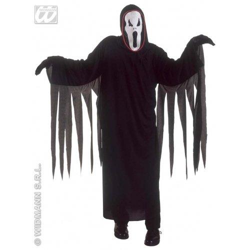 -Zauberin Damenkostüm Halloween schwarz S ()