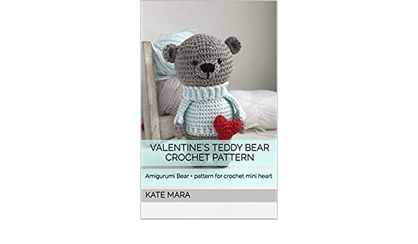 Tiny teddy bear crochet pattern | Amiguroom Toys | 350x600