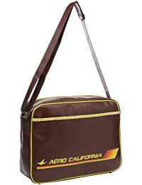 Logoshirt Unisex-Adult Aero California Fake Landscape Format Messenger Bag