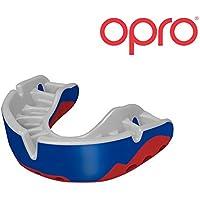 OPRO Mundschutz Platinum - Damen/Herren/Kinder Zahnschutz für Handball, Karate, Rugby, Hockey, MMA, Boxen, American Football, Basketball - selbst anformbar - im UK entworfen & hergestellt