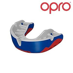 Opro Mundschutz Platinum – Damen/Herren/Kinder Zahnschutz für Handball, Karate, Rugby, Hockey, MMA, Boxen, American Football, Basketball – selbst anformbar – im UK entworfen & hergestellt