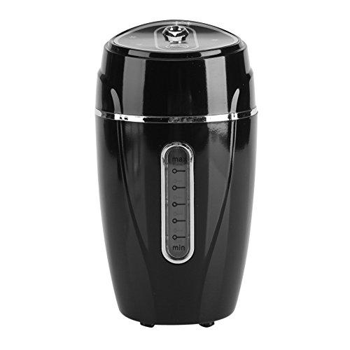 Preisvergleich Produktbild Hand-Luftbefeuchter, USB Luftreiniger Ultraschall Luftbefeuchter mit Stand Aroma Diffusor Portable Mini Mist Diffusor für Auto Büro(Schwarz)
