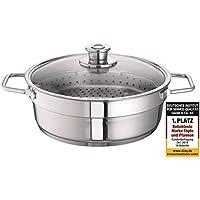 Schulte-Ufer 00133-30 Wega - Cacerola con cesto para cocinar al vapor