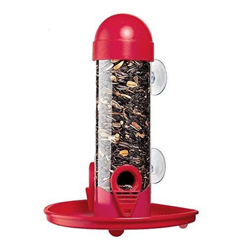Woodstream Perky-Pet 4626 - Dispenser mangime per uccellini da finestra