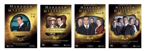 Murdoch Mysteries Ultimate Collection Seasons 1-10