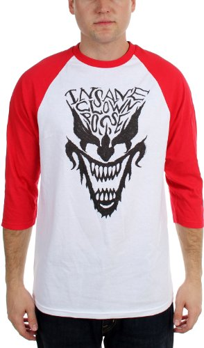 Insane Clown Posse - Männer Gesichts Raglan Raglan White/Red