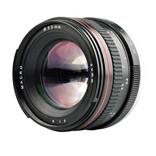 Für Nikon SLR Digitalkamera Porträt-Objektiv, 50mm F1.4 Manueller Fixfokus Objektiv, Kameraobjektiv Für Nikon SLR Kamera Colorful